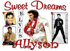 "ELVIS PRESLEY Personalized PILLOWCASE #5""Sweet Dreams"" Any NAME Super Soft"