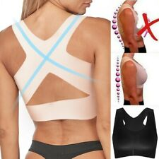 For Women Yoga Sports Underwear Fitness Vest Posture Corrector Lift Push Up Bra