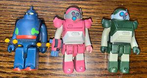 "3 Medicom Tetsujin & 2 Armored Troopers Kubrick X Votom 2"" Action Figures Toys"