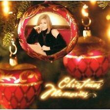 "BARBRA STREISAND ""CHRISTMAS MEMORIES"" CD NEUWARE"