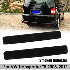 2x Stoßstange Reflektor Rückstrahler Lichtscheibe L+R Für VW T5 03-11 7E0945105