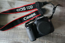Canon EOS 60D Digital SLR Camera FOR PARTS/Not Working BODY ONLY