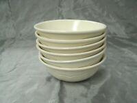 "Vtg Pfaltzgraff TEA ROSE Set of 6-6"" Soup Cereal Bowls No Decal Stoneware USA 2"