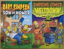 Simpsons Comics Meltdown 2011, Bart Simpson Son of Homer 2009 Matt Groening