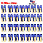 20 100Pcs EC5 Device Connector Plug for RC Car Plane Helicopter Battery Lipo Lot