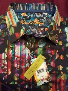 NWT Robert Graham Classic Fit 2018 Aerie Woven Shirt XL GREAT GIFT