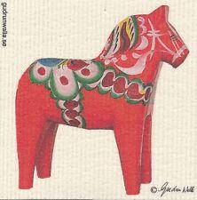 Dish Cloth Dala Horse Beige – Gurdun Walla Design