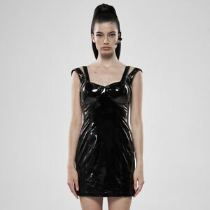 Punk Rave Shiny Futuristic Lycra Mini dress