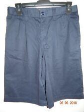 OLD NAVY Boys Size 16 School Navy Uniform Flat Front Shorts FREE SHIPPING