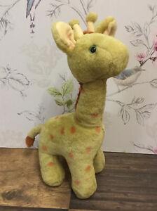 "Vintage Jane Hissey Jolly Tall Giraffe Old Bear &Friends 14"" Soft Toy"