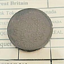 Canada United Kingdom Lower Canada Bank token Un Sou Montreal Breton 715