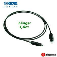 Klotz Optical Kabel - Digital - FO-01TT - 1,0m,   5 Jahre Garantie
