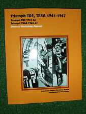TRIUMPH TR4 & TR4a SPORTS CAR AUTOBOOK OWNERS WORKSHOP MANUAL 1961-1967 NEW