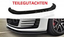GOLF 7 GTI GTD Diffusor Spoilerlippe Frontspoilerlippe Frontansatz Lippe VW VII