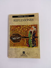 Livre RÉFLEXIONS Idries Shah