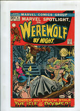 Marvel Spotlight #4 Werewolf by Night -(4.0) 1972