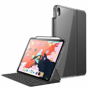 i-Blason iPad Pro 11/12.9 Case 2018 Smart Keyboard Compatible Cover+Pencil Slot