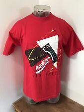 Mens Large VINTAGE 1995 COCA COLA 5th Avenue NY Retro Tee T Shirt *RARE* NWOT