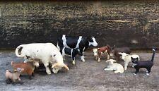 Lot Of 10 Schleich Farm Animal Figures