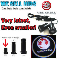 2x VAUXHALL LED Welcome Projector Logo Ghost Shadow Car Door light DRILL Mini