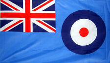 RAF FLAG 5' x 3' Royal Air Force Flags Blue Ensign Union Jack