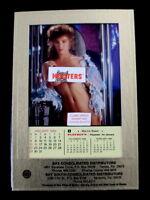 Limited made Playboy's Playmate Marina Baker 1989 January Desk Calendar Hooters
