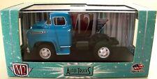M2 AUTO-TRUCKS R15- BLUE 1958 CHEVROLET LCF TRUCK / TRACTOR - 1/64 DIECAST HTF