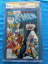 Uncanny X-Men #273 - Marvel - CGC SS 9.6 NM+ - Signed by Whilce Portacio