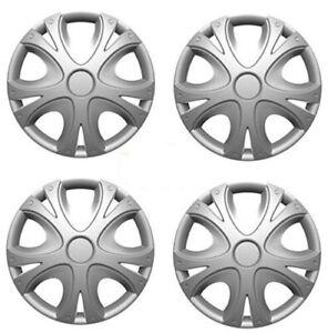 """Hyundai i10 14"""" Universal Dynamic Wheel Cover Hub Caps x4"""