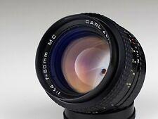 PANCOLAR 1.4/50 MC PB mount lens CARL ZEISS JENA DDR PRAKTICAR /22