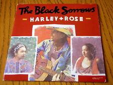 "THE BLACK SORROWS - HARLEY & ROSE  7"" VINYL PS"