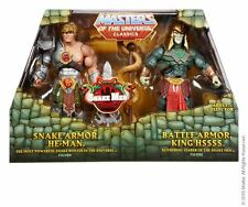 Snake Armor He-Man vs. Battle Armor King Hssss 2015 Masters MOTU CLASSICS NEU