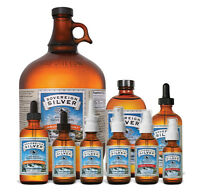 Sovereign Silver Bio-Active Silver Hydrosol for Immune Support - 10 ppm Natural
