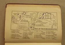 XXI Sec.Originale Mappa Geo-Topografica= Piano del Foro Romano = ITALIA ETNA