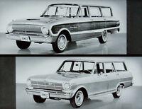 1962 Ford Falcon Dealer Promo Versus Chevy II Comparison Film CD MP4 Format