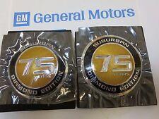 NEW, GM 2010 Chevy Suburban Diamond Edition 75 years emblem medallion ornaments