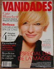 APRIL 29 2005 VANIDADES CHILE MAGAZINE, CATE BLANCHETT, FASHION, LIFESTYLE