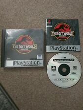 The Lost World Jurassic Park (PAL) Sony Playstation 1 Complete With Manual