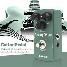 New Joyo JF-33 Analog Delay Electric Guitar Effect Pedal Green True Bypass L6H6