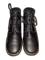 COLE HAAN COUNTRY - Men's Pebbled Black Leather Chukka Ankle Boot D11812 US 11B