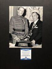 Pete Dawkins autographed signed 8x10 photo Beckett BAS COA Army Heisman 58 Rare