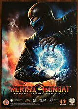 Mortal Kombat Sub Zero RARE PS3 XBox Original Video Game Promo Poster 43x60cm #1