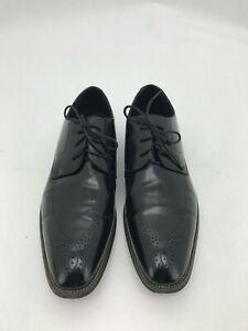 Stacy Adams Men's Oxford Shoe: Size 14 M | Black |  Ballard Plain Toe  (SH94)