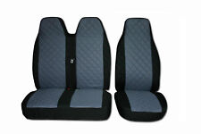 Seat Covers for Volkswagen VW Transporter T5 2+1 1 SINGLE 1 DOUBLE Black Grey