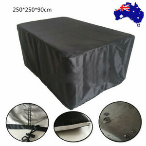 Waterproof Outdoor Furniture Cover Garden Chair Shelter Protector 250*250*90cm