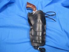 Western Double Loop, 45 Cal Single Action Peacemaker Holster, Fine Line Tooling