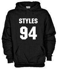 Felpa Cappuccio One Directioner KJ857 Styles 94 Sweater Fan 1D Harry