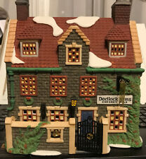 Dickens Village Series Dept 56 Dedlock Arms 3Rd Edition 1994
