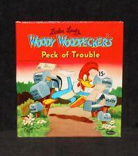 Tell-A-Tale #2618 - Woody Woodpecker Peck of Trouble - 1958 Whitman HC Near Mint