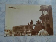 Rare TAROM  Baneasa Airport Romanian air transport   postcard